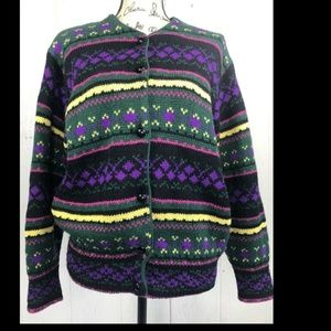 Vintage United Colors Of Benetton Italian Wool